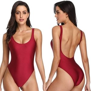 Dixperfect Retro High Cut One Piece Swimsuit